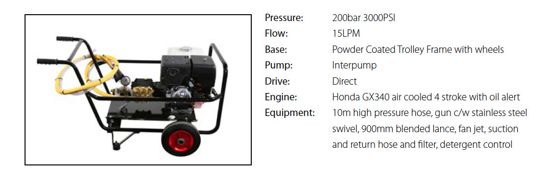 Europumps 11HP Petrol