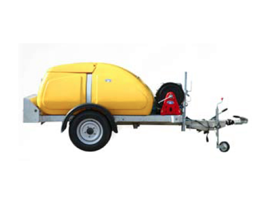 Single Axle 1000L Bowser Pressure Washers