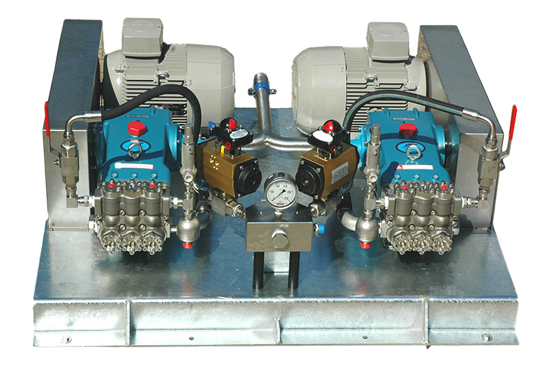 Multiple Pumps Skid based unit