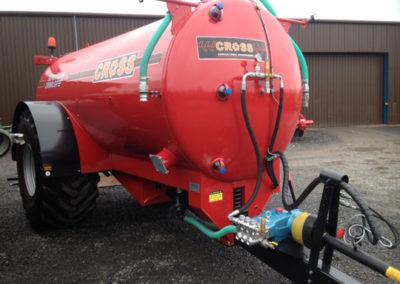 High Pressure Road Wash Tanker
