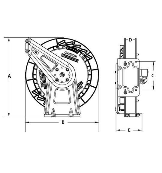 spring-driven-hose-reels-sizes