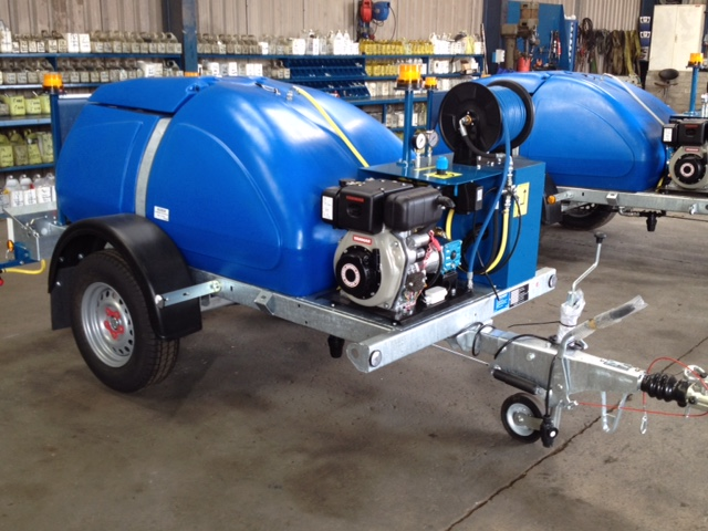 Roadway Maintenance Single Axle Water Bowser Europumps