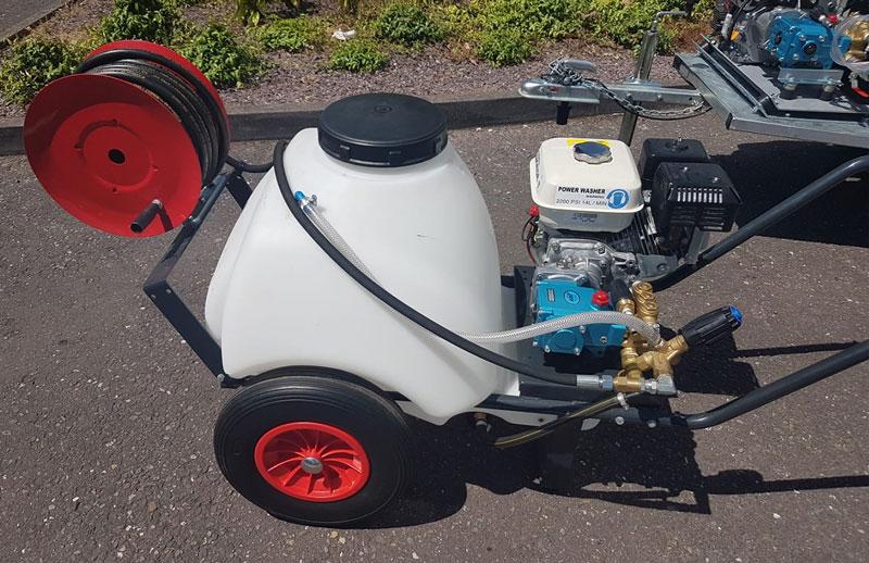 Mini Petrol Power Washer