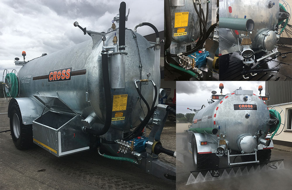 High Pressure Road Wash Tanker 2500L