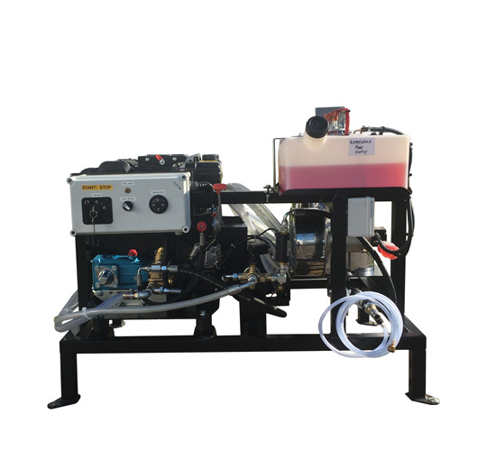 Mobile Diesel Hot Pressure Washer